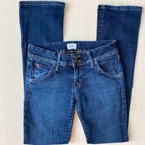 Hudson Medium Wash Flare Jeans